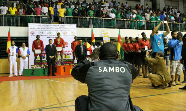 African Sambo Championship 2014 in Cameroon: how it was [video]
