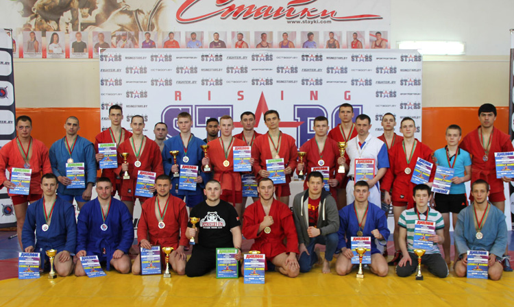 Belarusian Combat SAMBO Cup was held in Minsk