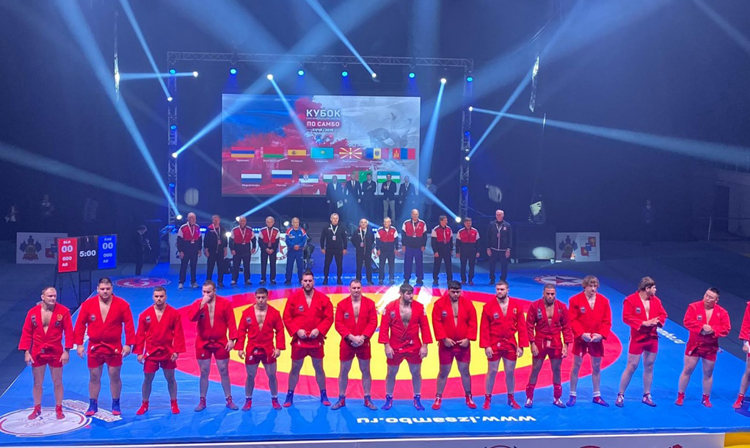 SAMBO Absolute Cup for the Prizes of the Union State was Held in Sochi