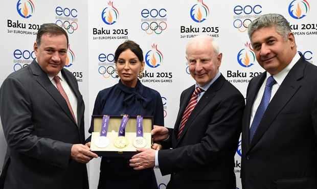 Medals of the First European Games Were Presented in Baku
