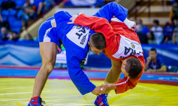 [VIDEO] Finals of the 1 Day of the European Sambo Championships 2017