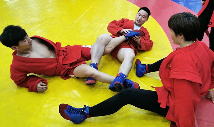 SAMBO in China: They Tailored Their Uniforms, Translated the Rules into Chinese, and Trained Days on End