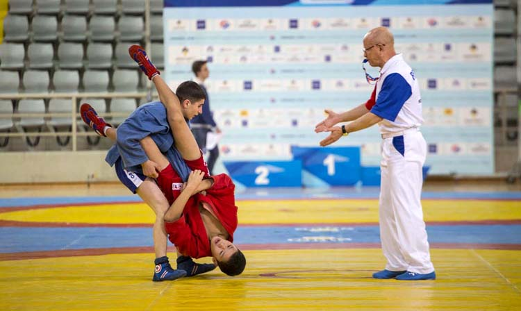 Live broadcast of the World Cadets SAMBO Championships on the FIAS website