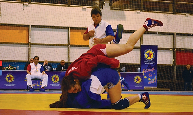 Video: European Youth Sambo Championship's Finals 2015 - Youth (M&W)