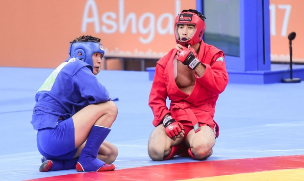[FIAS TV] SAMBO at the Asian Games - Ashgabad 2017. Day 1