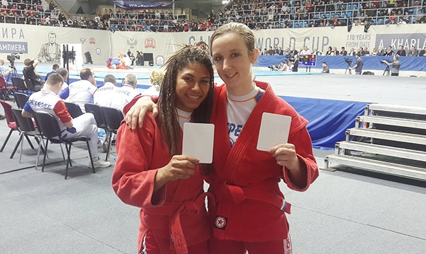 SAMBO athletes participated in the White Card campaign