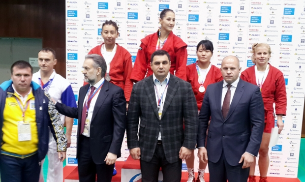 Winners and prize-winners of the Third Day of the World Sambo Championship 2014
