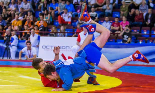 Winners of the 2 Day of the European SAMBO Championships in Minsk