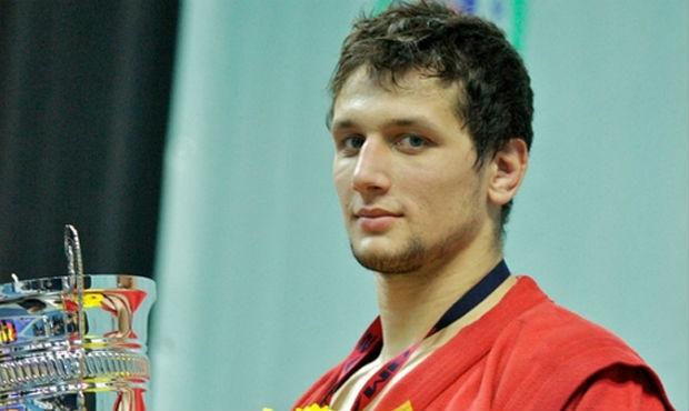 Artem Osipenko is the best Russian sambo athlete in 2014