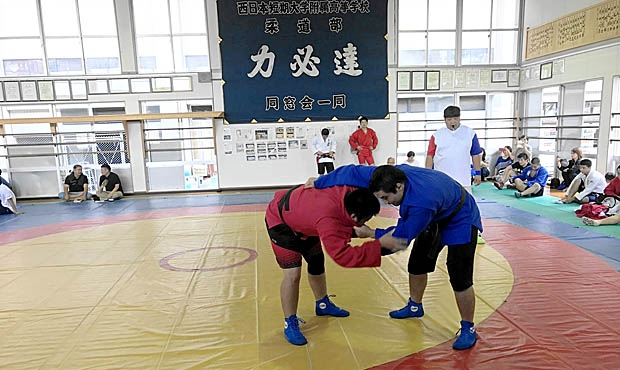 The Victor Koga SAMBO Cup was held in Japan