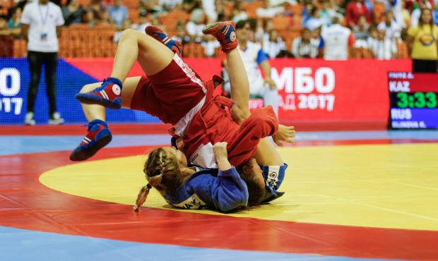 Live Broadcasting of the Youth and Junior World Sambo Championships 2017 in Serbia. Day 2