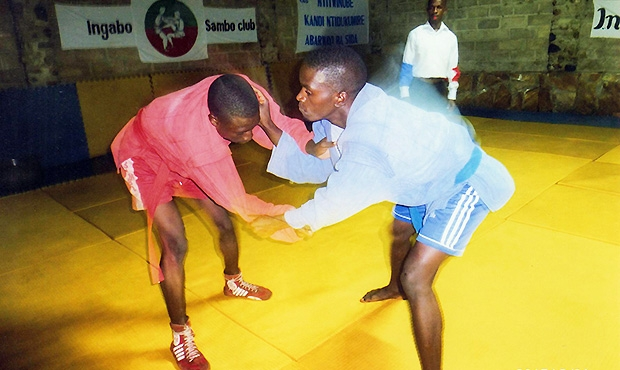 First Ever Sambo Competition in Burundi