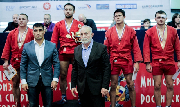 All Winners and prize-winners of the International Sambo Tournament on the prizes of Aslambek Aslakhanov