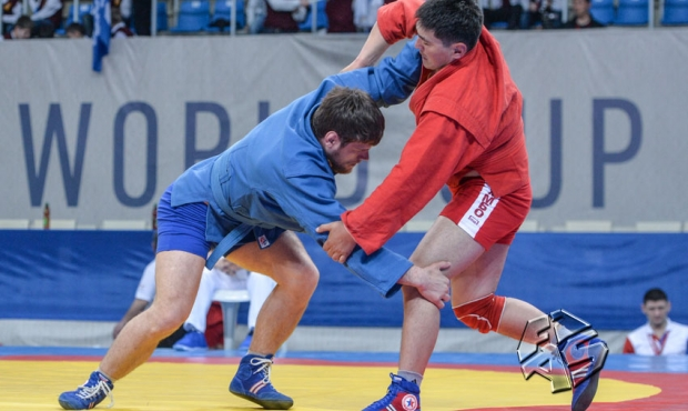 "Draw of the 2 day of the Sambo World Cup ""Kharlampiev Memorial"""
