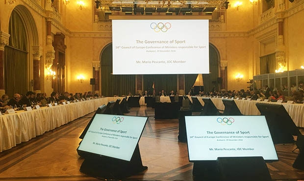 FIAS at the 14th Council of Europe Conference of Ministers responsible for Sport