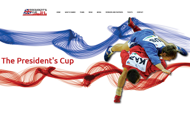 Website of London President's Sambo Cup Launched