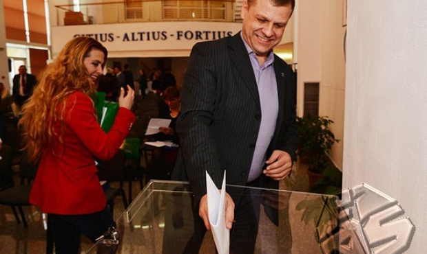 Viorel Ghyska participated in the elections of the Olympic future of Romania