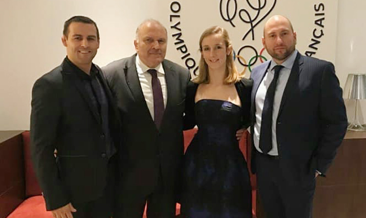 The French SAMBO Committee has been received by the French National Olympic and Sports Committee