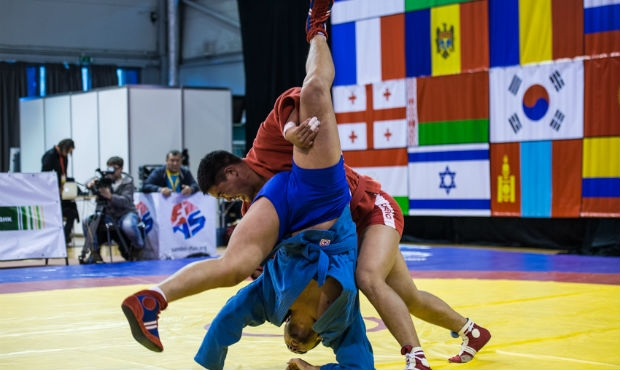 Winners and prize-winners of the Third Day of the World Sambo Championship among Youth and Juniors
