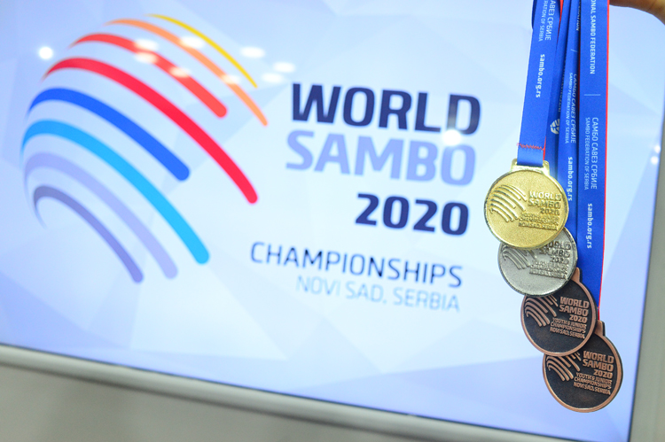 Winners of the 4th Day of the World Youth and Junior SAMBO Championships in Serbia