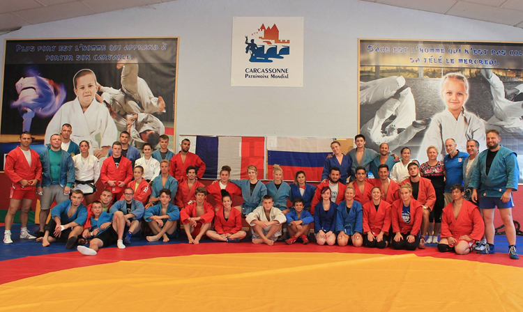 Summer SAMBO Training Camp Will Be Held In French Carcassonne