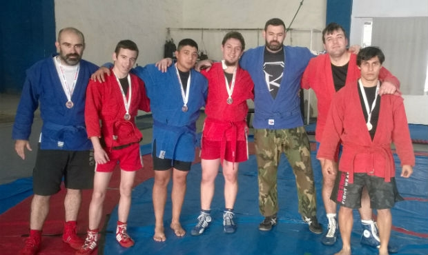 In Argentina they actively studying Sambo