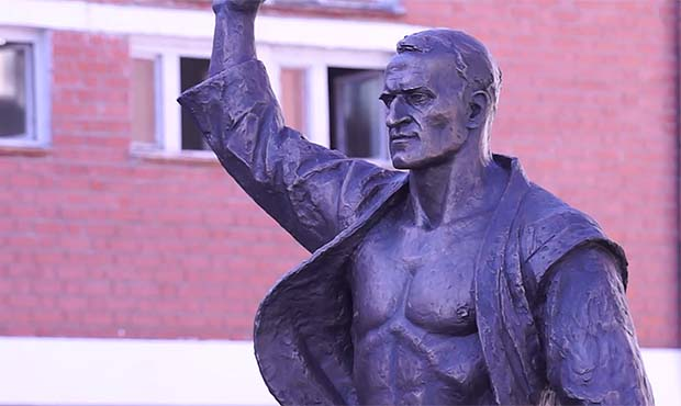 Opening of the monument to Mikhail BURDIKOV
