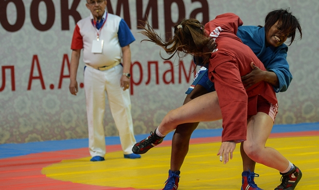 Sambo World Cup Memorial of A. Kharlampiev: Best Moments of the Second Day [video]