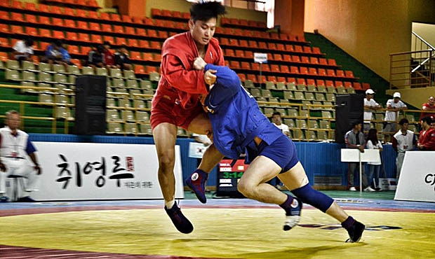 Interviews with winners and medalists on the 1st day of the 2017 FIAS President's SAMBO Cup