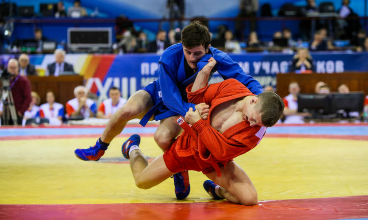 Reflections of the Winners of the 2nd Day of International SAMBO Tournament for the Prizes of the President of Belarus