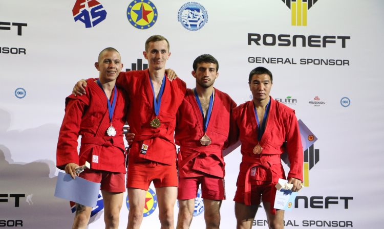 What The Prize-Winners Of The Firsy Day of the European SAMBO Championships In Athens Were Talking About