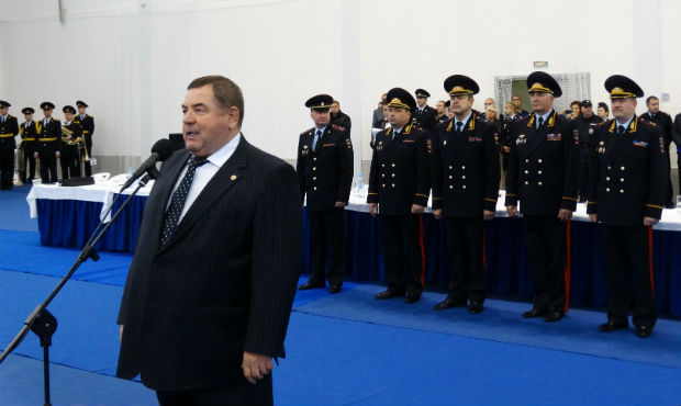 FIAS President Vasily Shestakov appeared at the opening of the Combat Sambo Championship of the Ministry of Internal Affairs of Russia