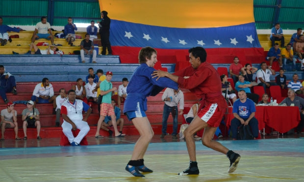"Sambo in Venezuela: youth will compete, and ""adults"" will train for serious starts"