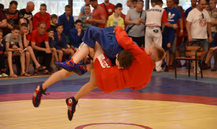 Karolino-Bugaz Hosted Ukrainian Youth SAMBO Championships (U-14)