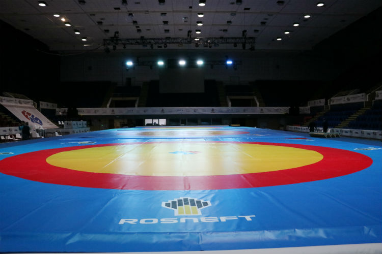 [PHOTO REPORT] How Bucharest is preparing for the World SAMBO Championships