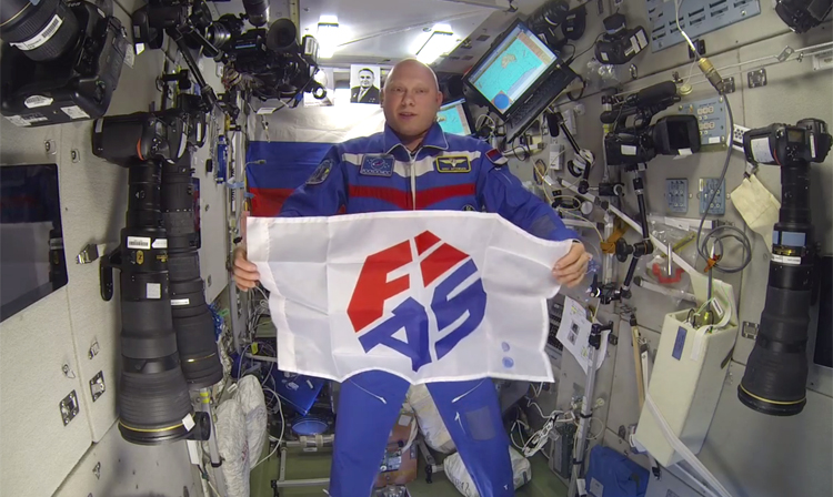 [VIDEO] Cosmonaut Oleg Artemiev Congratulates FIAS and all Sambists on the 80th Anniversary of SAMBO