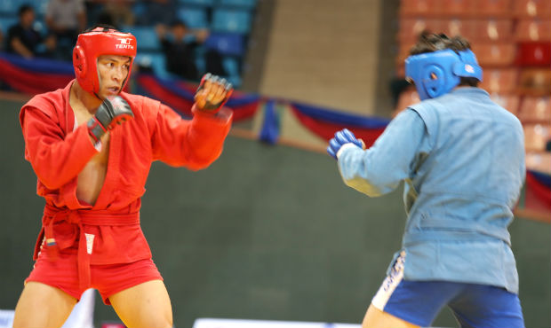 Results of the Third Day of the Asian Sambo Championship 2014