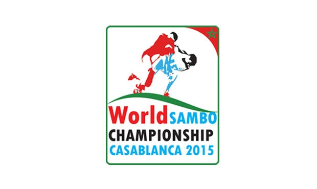 The official logo of the World Sambo Championship in 2015 in Morocco has been published