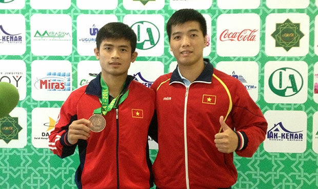 "Nuyunh Nhat Tong: ""I look forward to meeting again all the Asian sambo wrestlers at home, in Vietnam"""