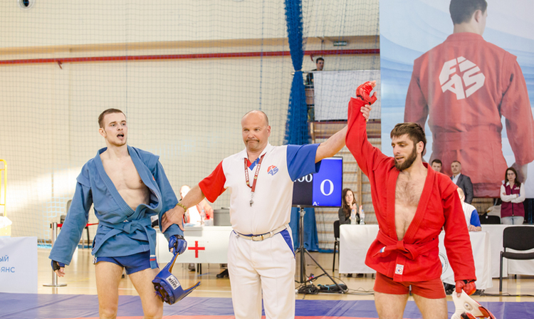 SAMBO Cup of Baltic Countries in a Memory of Anatoly Khlopetsky was held in Kaliningrad