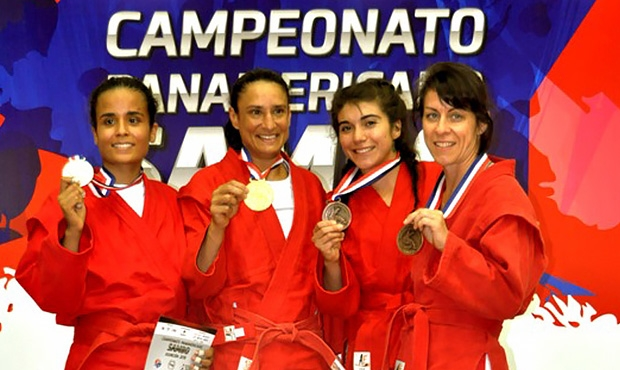 A second gold for Costa Rica in the history of the Pan American Championships: Reina Córdoba Calderón - a mother and phys ed teacher in everyday life