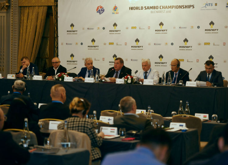 XXX Congress of the International SAMBO Federation Took Place In Bucharest