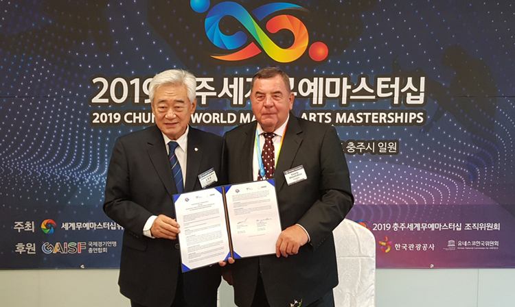 FIAS Concludes Memorandum of Understanding with World Taekwondo