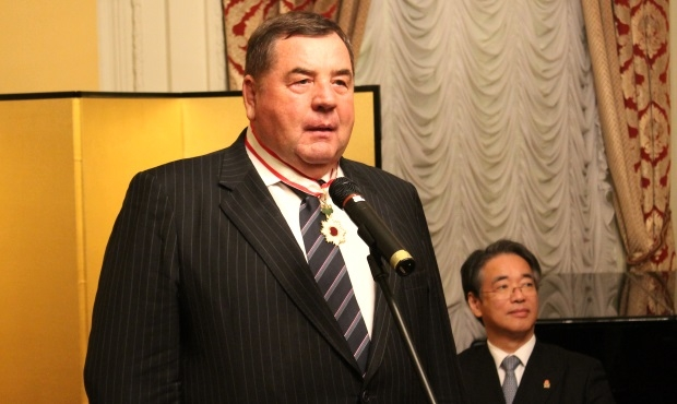 FIAS President Vasily Shestakov is awarded the Japanese Order of the Rising Sun