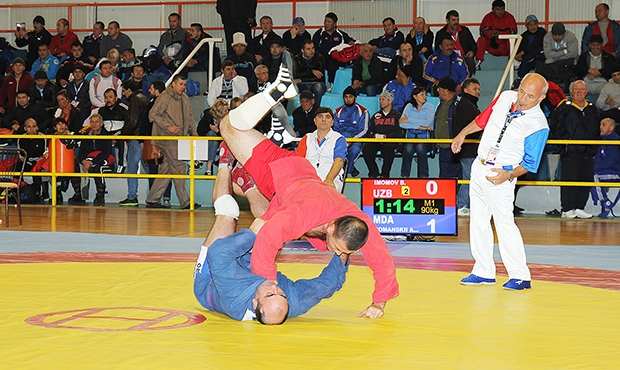 World Sambo Championship among Masters 2014 in Greece - best moments and impressions of participants [video]