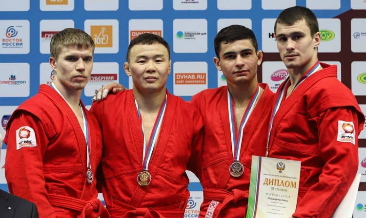 Winners of the 2nd Day of the Russian Sambo Championships 2018 in Khabarovsk