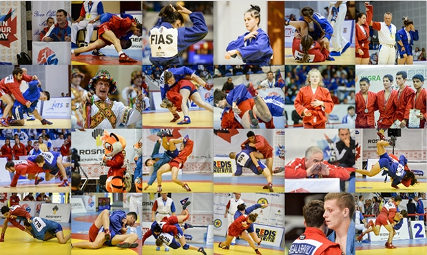 Photos of the Youth and Juniors Sambo Championships 2016 are published