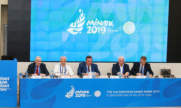 Press conference on SAMBO was held at the European Games in Minsk