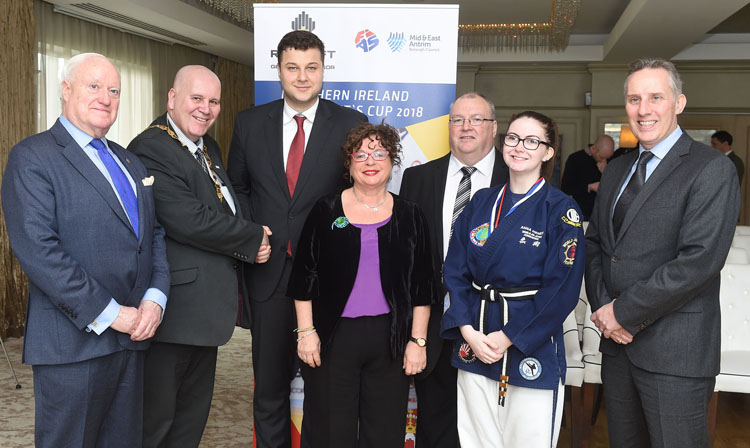 Northern Ireland is to host the President's Sambo Cup