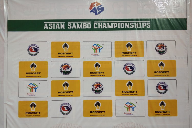 Draw of the second day of the Asian Sambo Championship in India